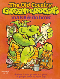 Old Country Gordon the Dragon's Make & Do Book, art by Dennis Jones