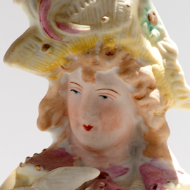 English porcelain Victorian figurine